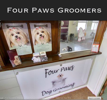 Commercial photographer in essex just interiors for 4 paws grooming salon